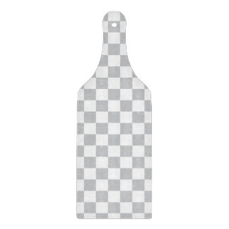 Light Grey Checkerboard Cutting Board