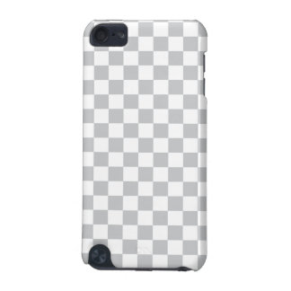Light Grey Checkerboard iPod Touch 5G Case