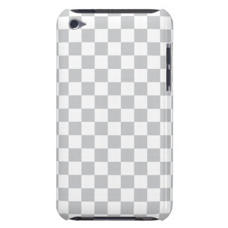 Light Grey Checkerboard iPod Touch Case