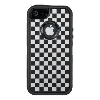 Light Grey Checkerboard OtterBox Defender iPhone Case