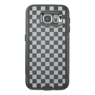 Light Grey Checkerboard OtterBox Samsung Galaxy S6 Case