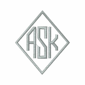 Light Grey Embroidered A.S.K. Shirts