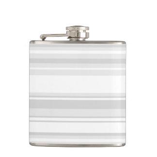 Light grey stripes flasks