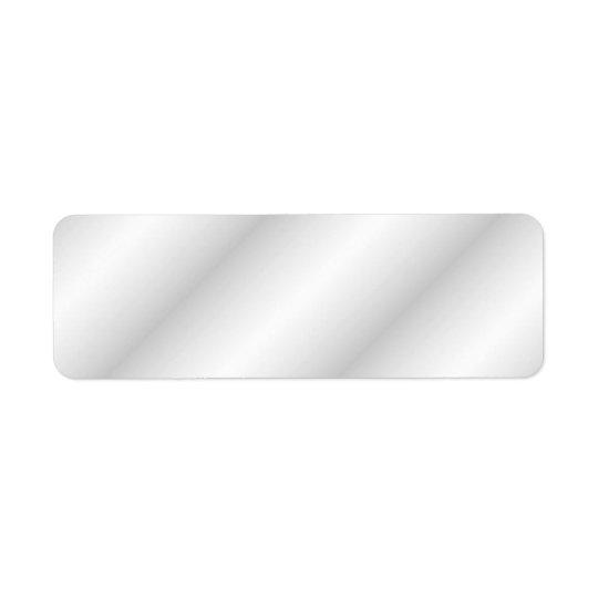 Light Grey Stripes. Return Address Label