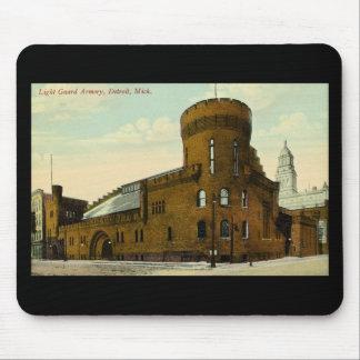 Light Guard Armory Detroit, Michigan Mouse Pad