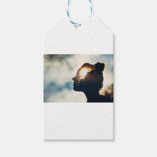 Light head gift tags