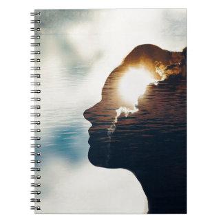Light head notebook