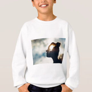 Light head sweatshirt