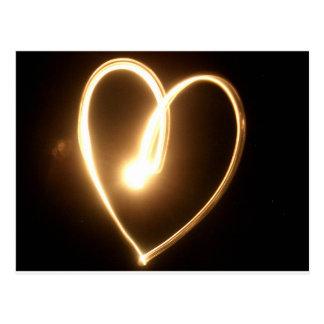 Light Heart Postcard