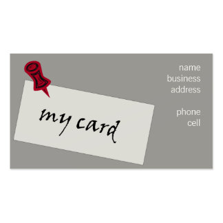 "light-hearted ""networking"" business card"