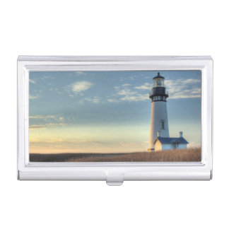 light house photography business card case