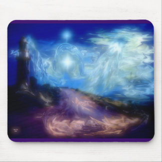 Light House Water Angel Mousepad