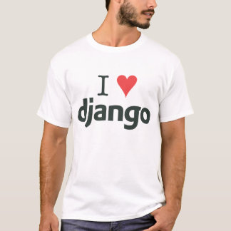 Light - I ♥ Django T-Shirt