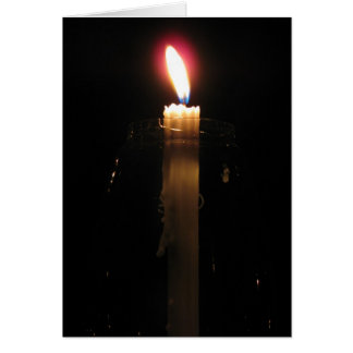 Light in Darkness Greeting Card