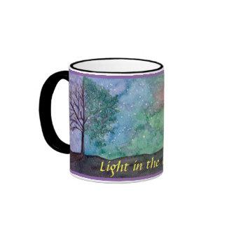 Light in the Darkness Ringer Mug