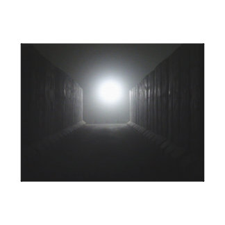 Light In The Labyrinth Canvas Print