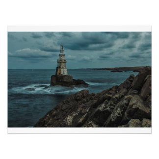 Light in the night photo print