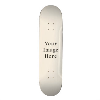 Light Ivory Tan Taupe Color Trend Blank Template 18.1 Cm Old School Skateboard Deck