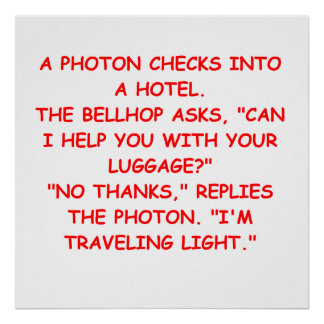 light joke poster