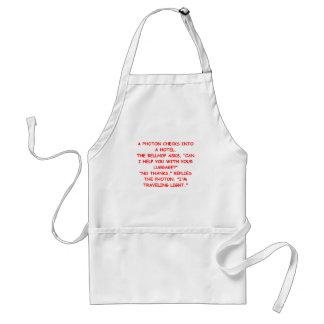 light joke standard apron