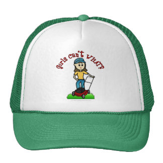 Light Lawn Care Girl Cap