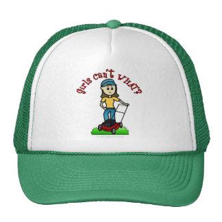 Light Lawn Care Girl Mesh Hats