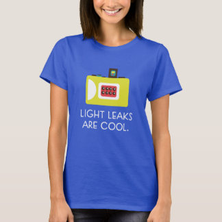 Light Leaks are Cool Toy Camera T-shirt