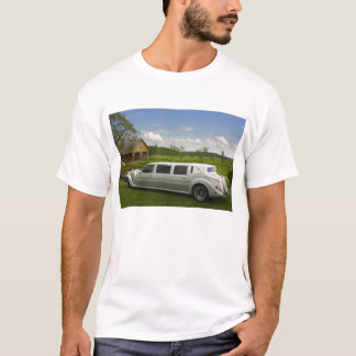Light limousine in the meadow T-Shirt