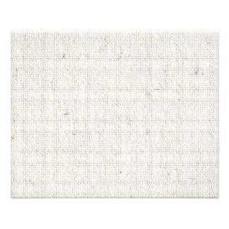 Light Linen Background 11.5 Cm X 14 Cm Flyer