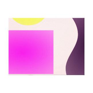 Light Minimalism Stretched Canvas Print