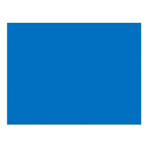 Light Muted Blue Medium Hanukkah Chanukah Hanukah Post Card