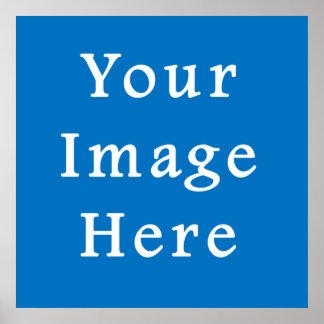 Light Muted Blue Medium Hanukkah Chanukah Hanukah Poster