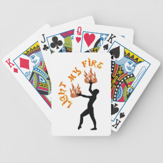 Light My Fire Bicycle Playing Cards
