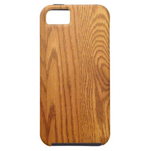 Light Natural Wood Grain iPhone 5/5S Case