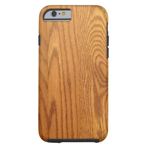 Light Natural Wood Grain iPhone 6 Case