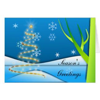 Light of Christmas Greeting Card