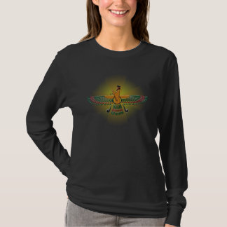 'Light of Farvahar' Ladies Long Sleeve T-Shirt