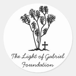 Light of Gabriel Sticker