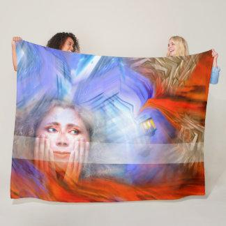 Light of Hope Fleece Blanket