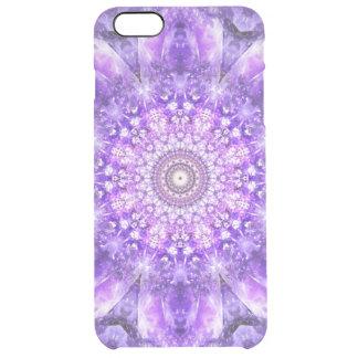 Light of Hope Mandala Clear iPhone 6 Plus Case