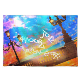 Light of joy and amour placemats