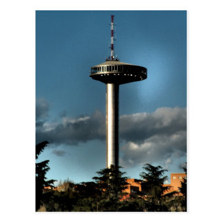 Light of Moncloa, Madrid Postcard