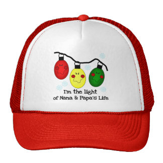 Light of Nana and Papa s Life Tshirts and Gifts Trucker Hat