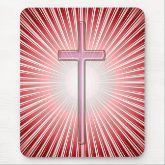 LIGHT OF THE CROSS MOUSE PAD