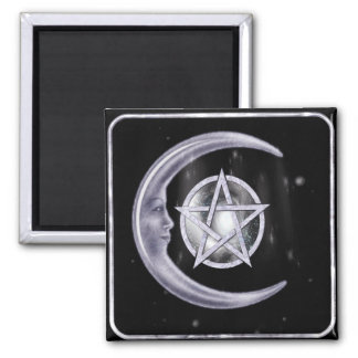 Light of the Moon WICCA New Age Magnet