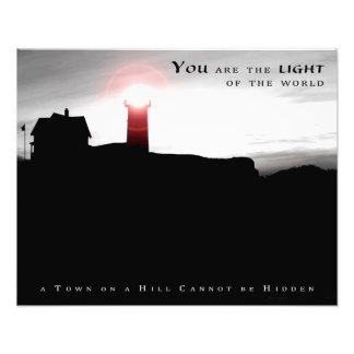 """Light of the World"" (20"" x 16"") Photo Print"
