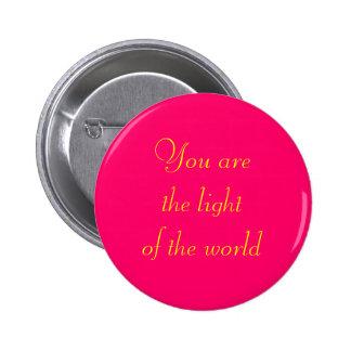 """Light of the World"" Button"