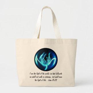 Light of the World Jumbo Tote Bag