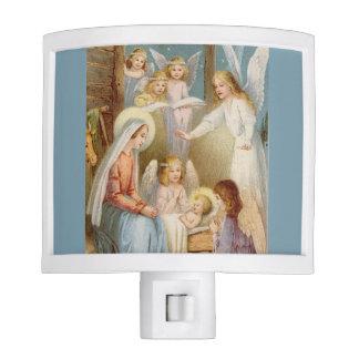 Light of the World Nativity Night Light