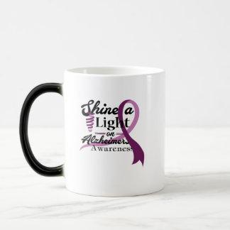 Light On Alzheimer's Awareness Support Gift Magic Mug